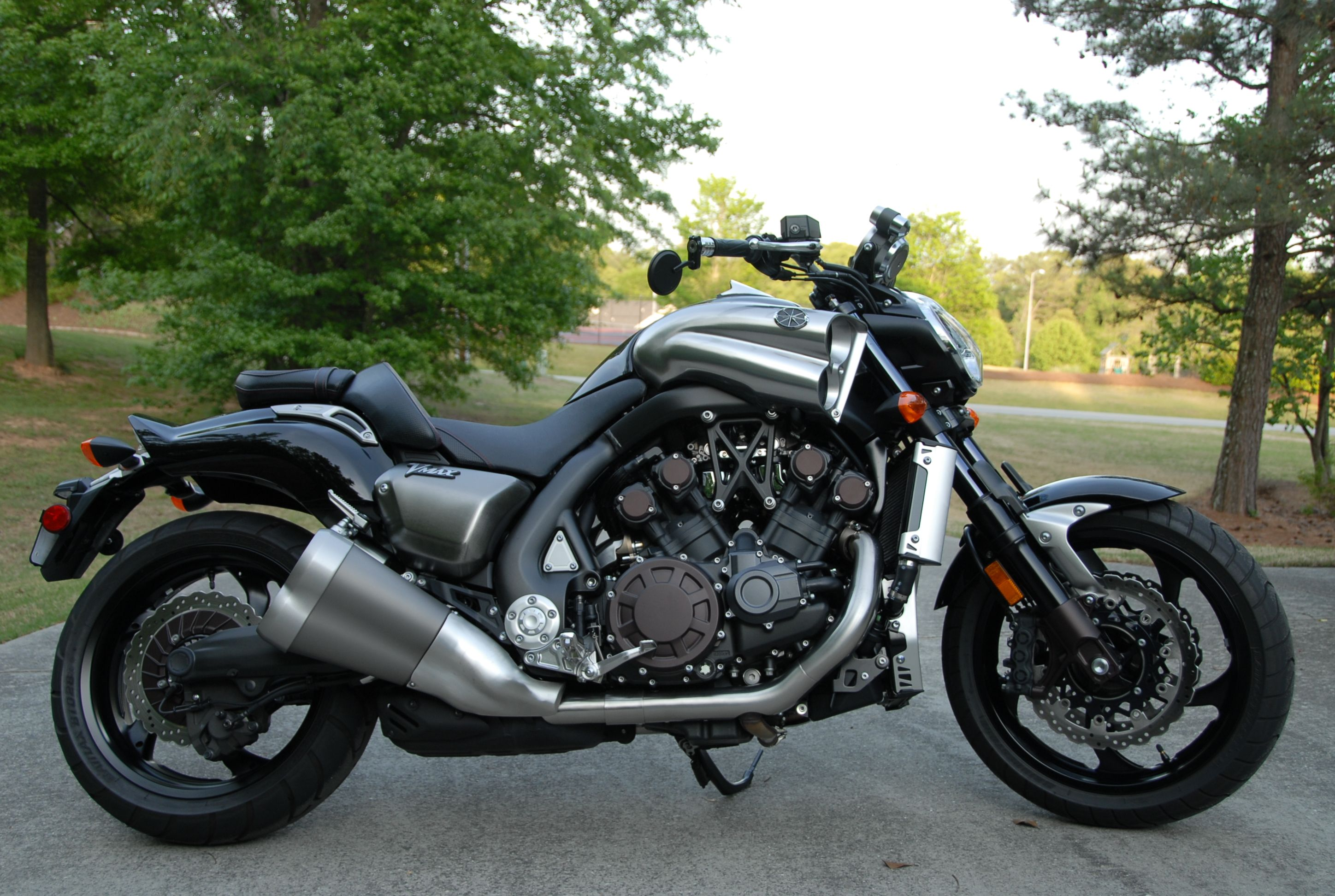 2009 Vmax still stock ONLY 197 Horsepower | Vmax and Motorcycles ...