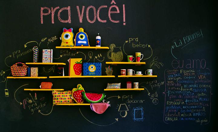 O guia definitivo para criar e decorar uma parede lousa - Guia para decorar ...