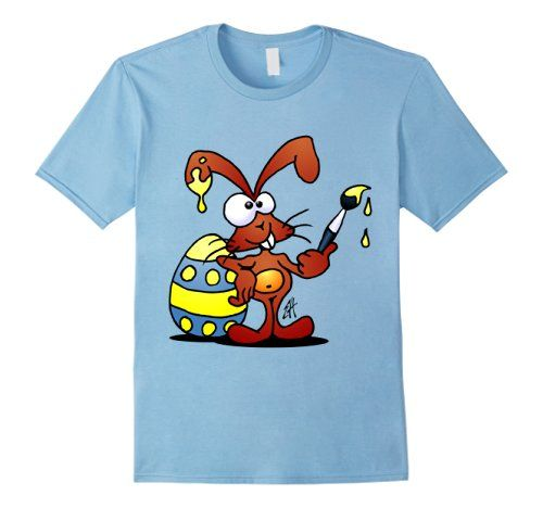 The easter bunny is painting his easter eggs t shirt amazon the easter bunny is painting his easter eggs t shirt amazon easter negle Images