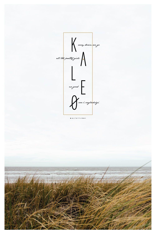 Kaleo Music Poster Music Poster Project Pinterest Bon Iver