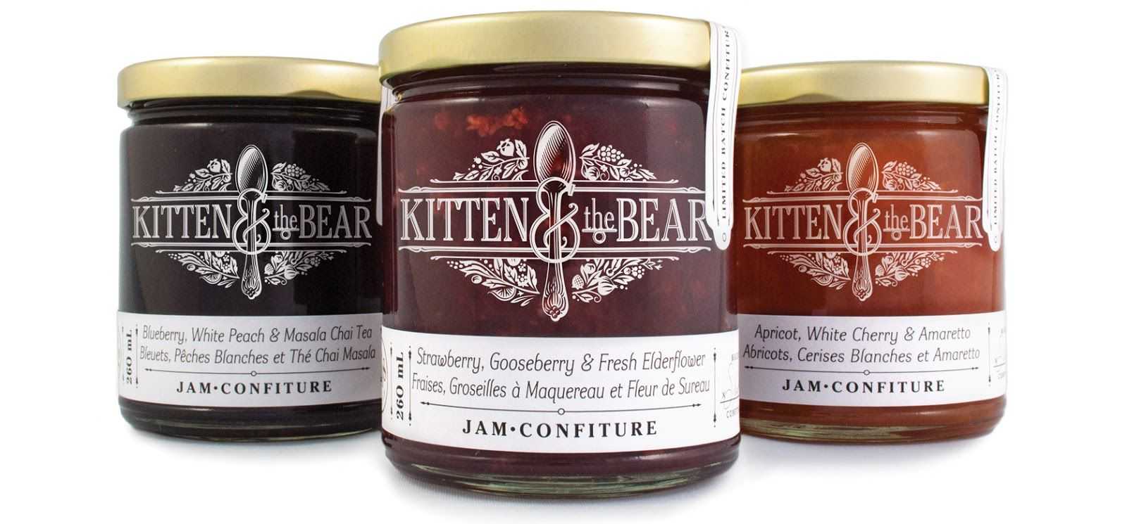 Kitten The Bear Jam Packaging Creative Packaging Design Award Winning Packaging Design