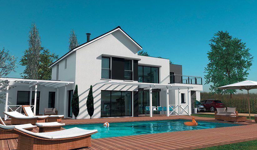 Gt Maisons Contemporaines Gt Maison Contemporaine à étage 200 M - plan maison etage m