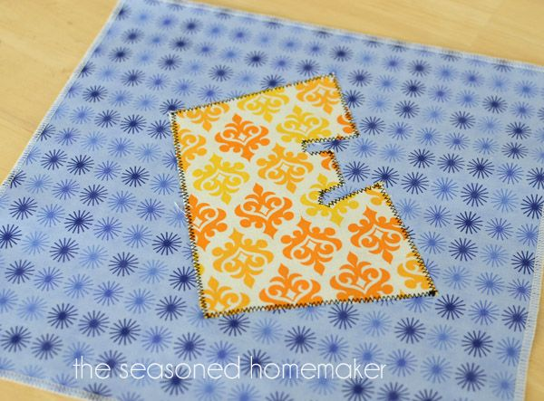 Learn How to Applique Using a Sewing Machine | Machine applique ...