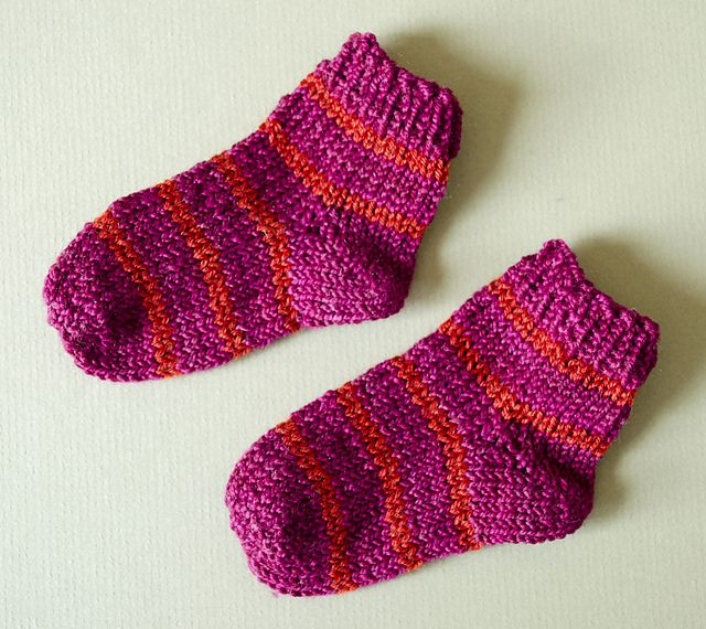 Ravelry Toe Up Baby Socks Pattern By Sheila Toy Stromberg