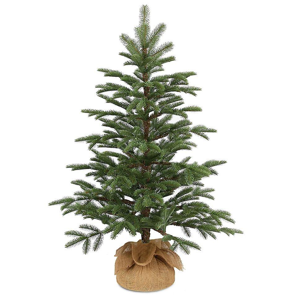 National Tree Company 3 Foot Norwegian Spruce Seedling Tree Bed Bath Beyond In 2020 Unlit Christmas Trees Artificial Christmas Tree Christmas Tree Sale