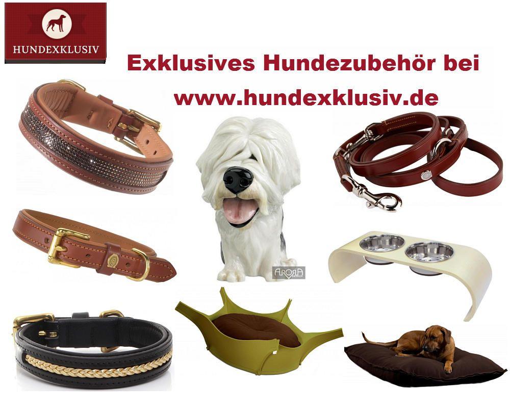 Stilvolles Hundezubehör für anspruchsvolle Hundebesitzerinnen und Hundebesitzer!