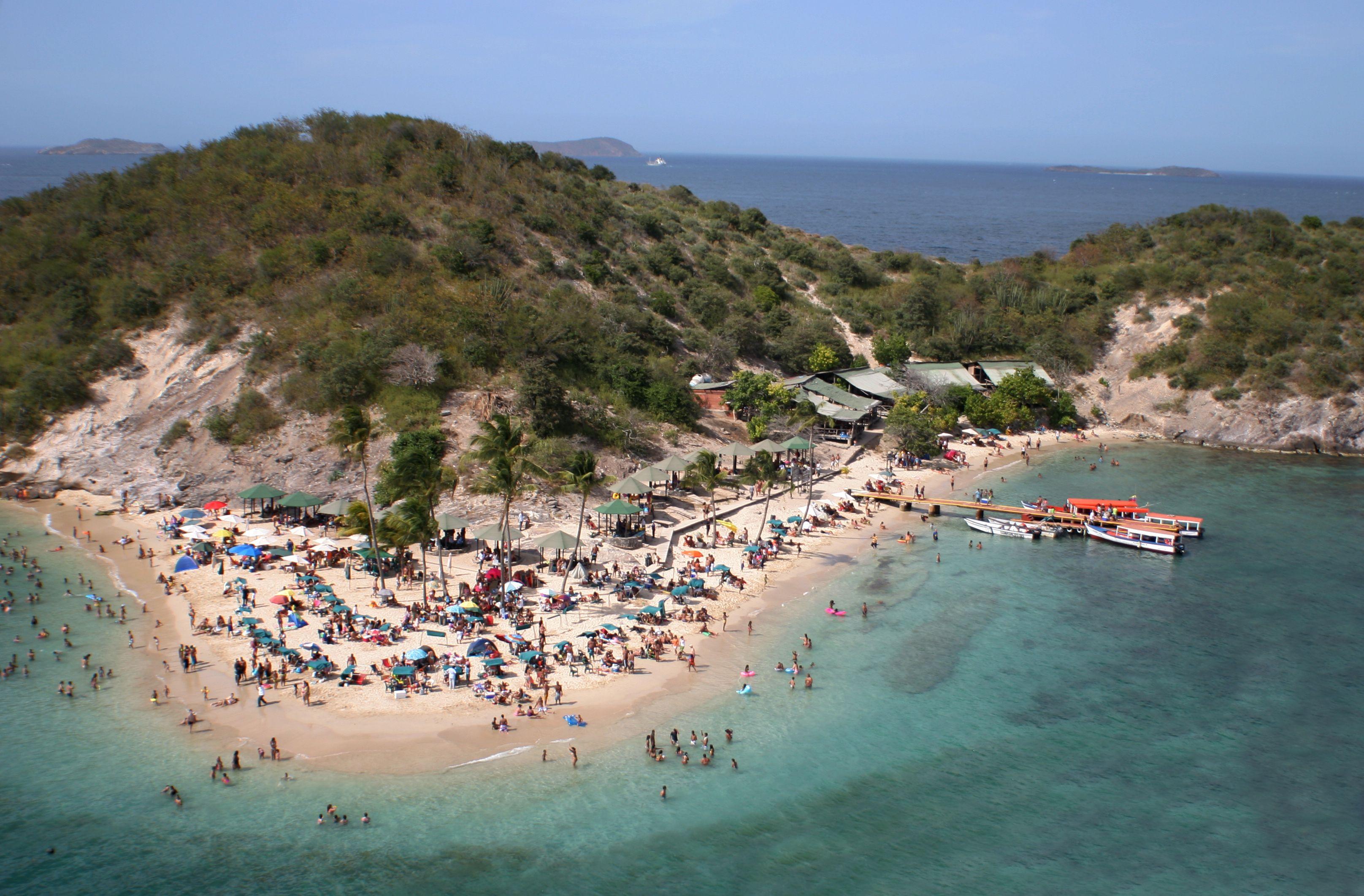 Isla de Plata en Anzoátegui Venezuela Playa Vacaciones