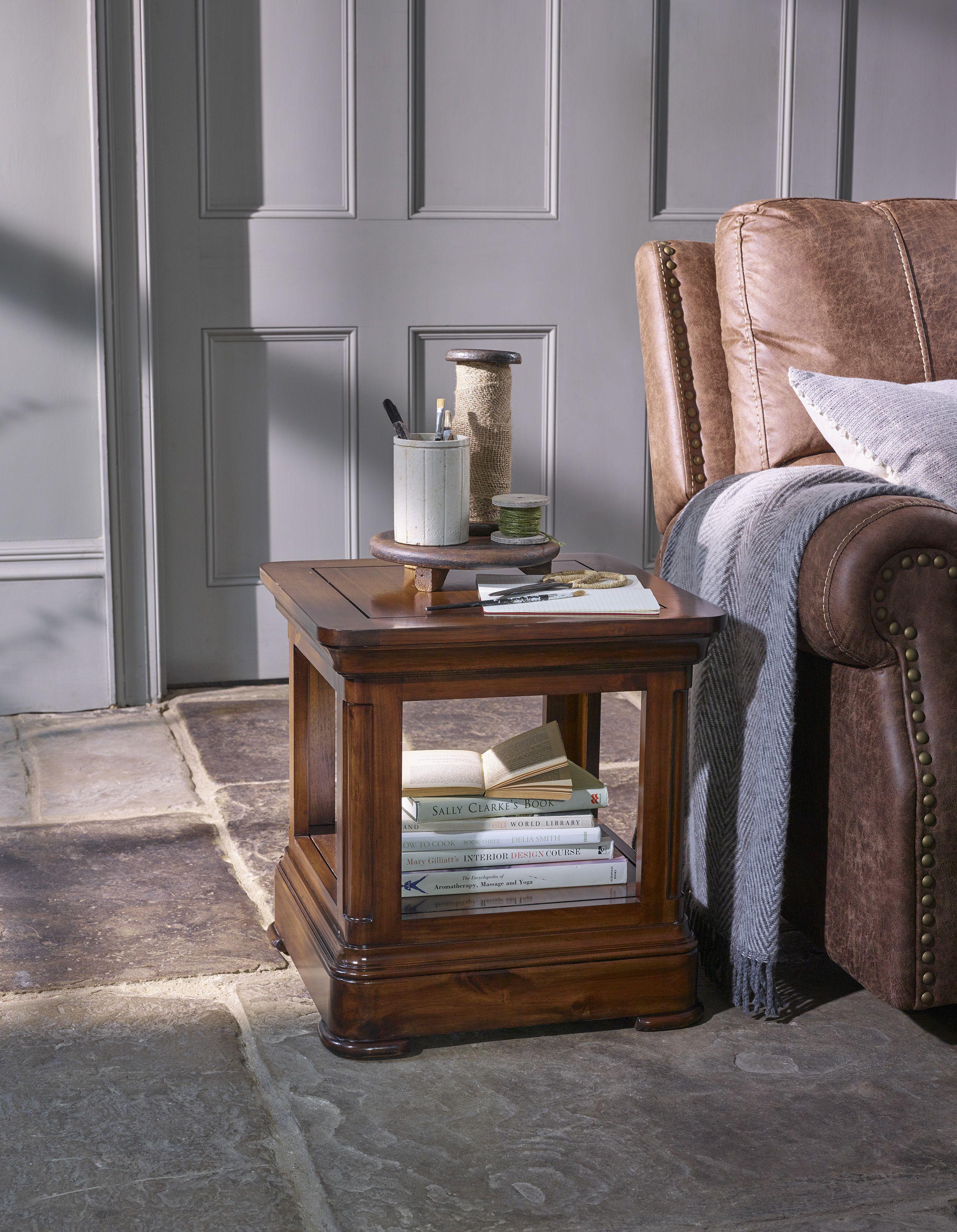 Solid Wood Side Table Oak Furniture