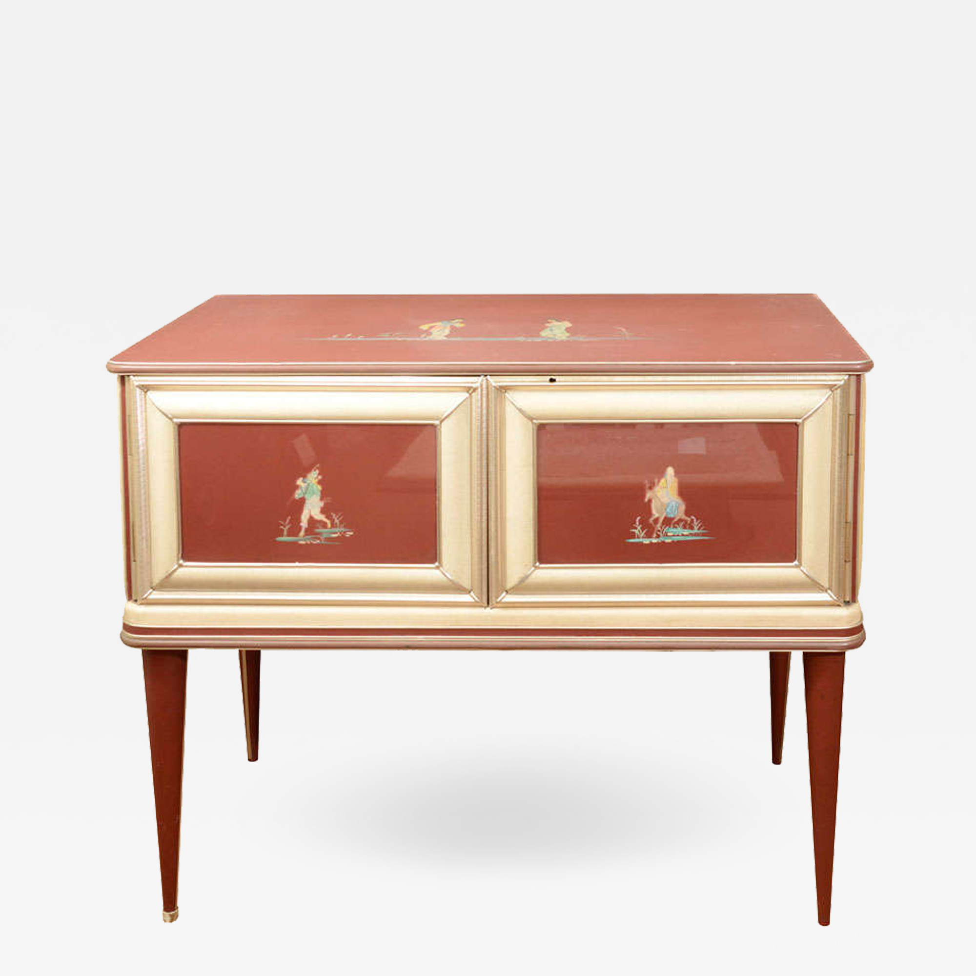 Umberto Mascagni Sideboard Or Credenza Modern Bar Cabinet