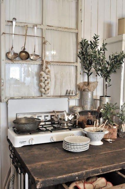 inspiration monday bohemian kitchen rustic kitchen home kitchens country kitchen on boho chic kitchen diy id=95271