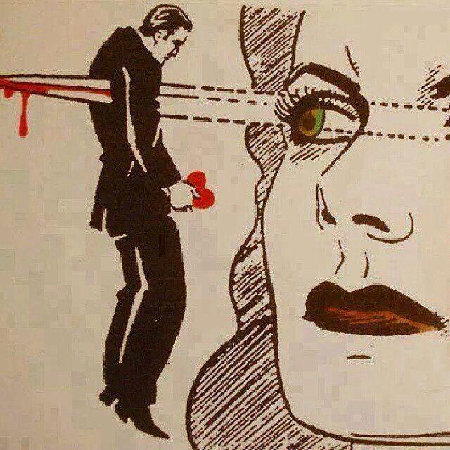 Tu as les yeux revolver - illustration