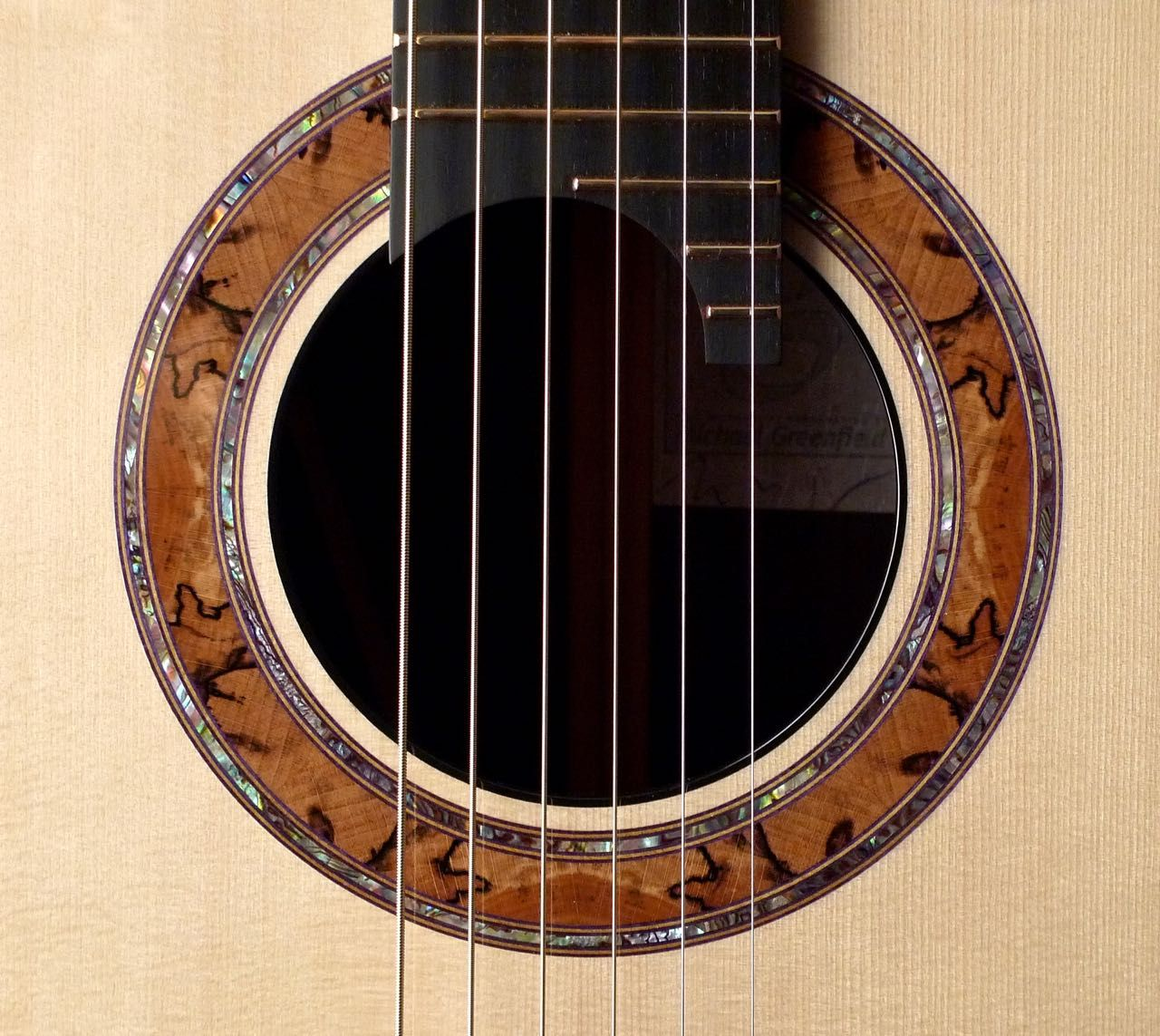 2015 Greenfield G2 Guitar Inlay Acoustic Guitar Acoustic Guitar Strings