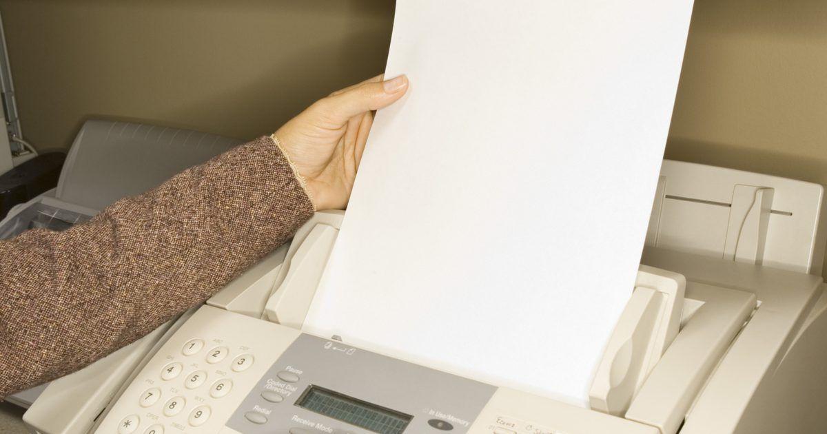 Cómo configurar un fax cuando tienes una sola línea de teléfono - microsoft office fax template