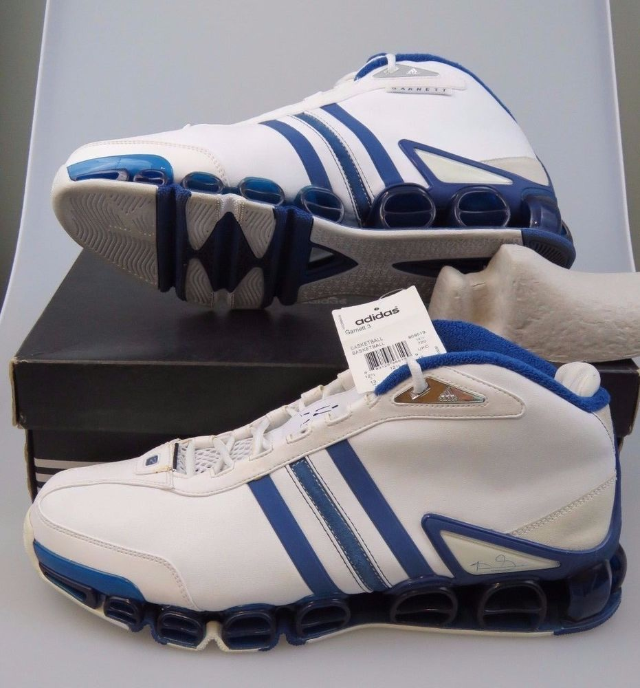 5972ea8f896 2005 ADIDAS KG Garnett 3 2MALIK Kevin Garnett 809519 In Box Men s US Size  13  adidas  BasketballShoes