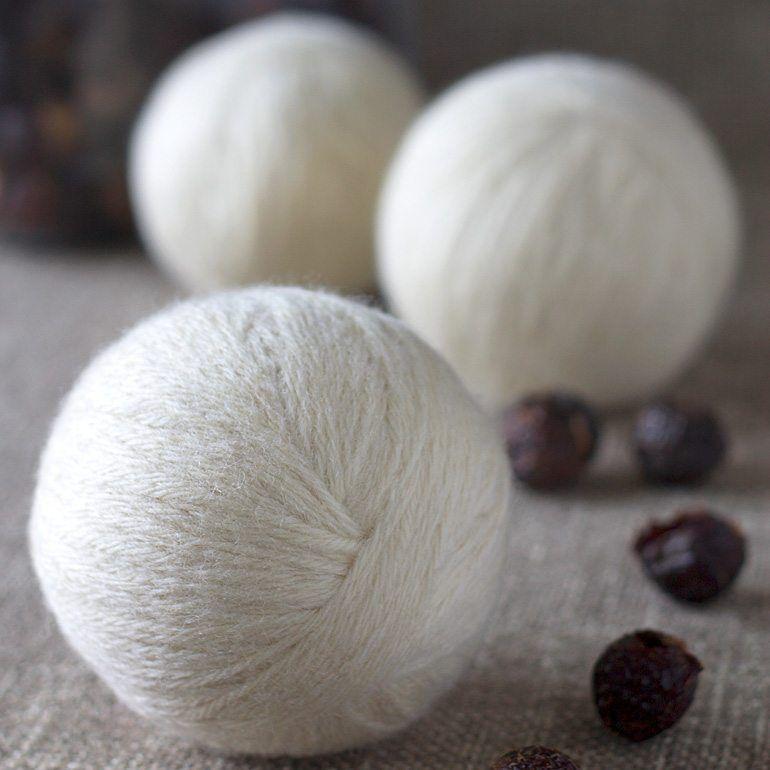 How To Make Wool Dryer Balls Wool Dryer Balls Laundry Hacks