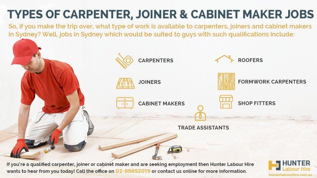 Carpenters, Joiners & Cabinet Maker Jobs In Sydney | Hunter