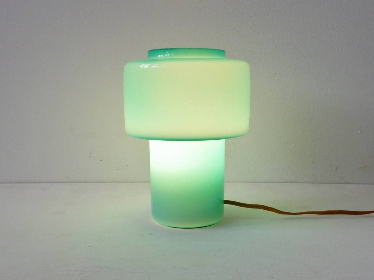 Glass table lamp by Uno and Östen Kristiansson for Luxus Vittsjo. Sweden, 1970 - NOVAC Vintage
