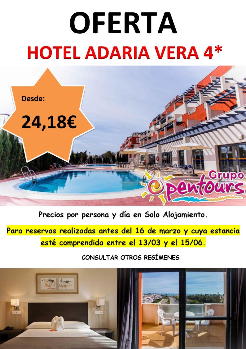 Grupo Opentours Hotel Adaria Vera Vera Almería Andalucía España Especial Marzo A Junio Ofertas De Viajes Ofertas Hoteles Agencia De Viajes