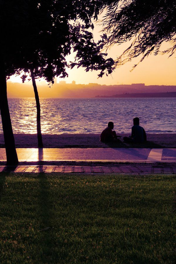 Conversations of sunset II by MustafaSEZER.deviantart.com on @deviantART