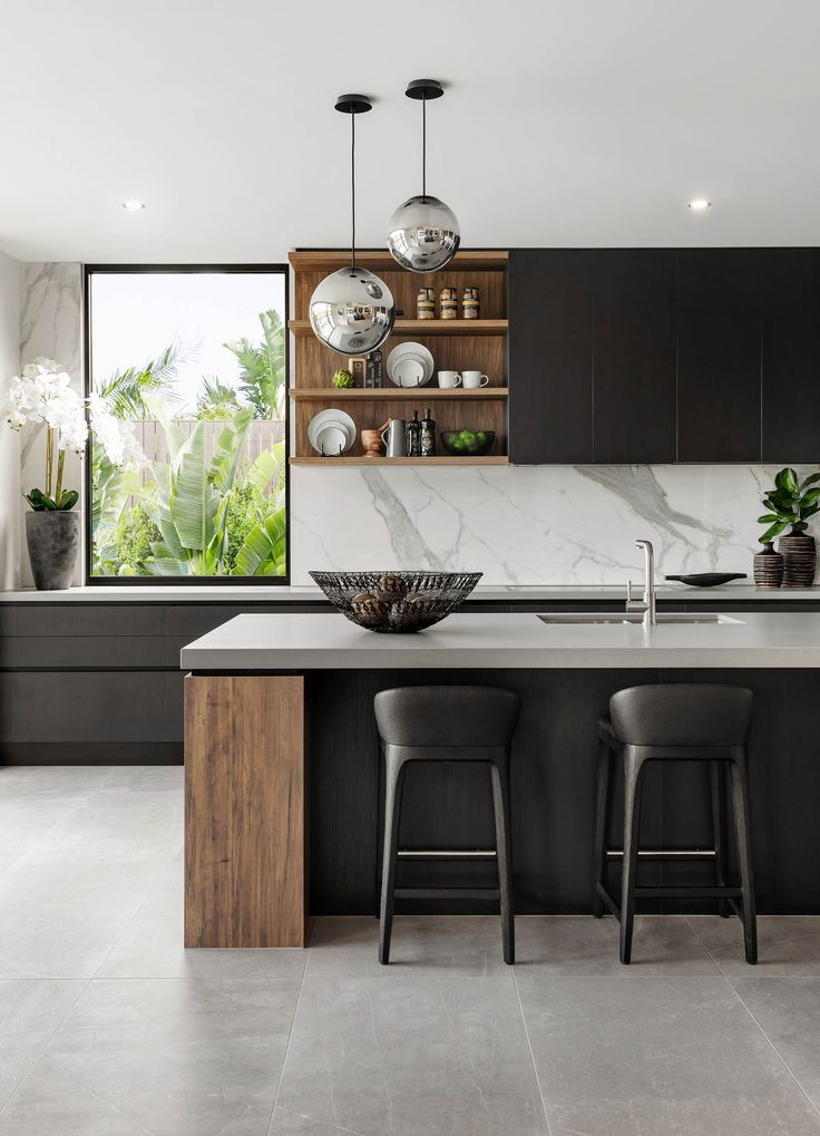 Photo of Kitchen // The Signature von Metricon Riviera, ausgestellt in Sorrento, QLD. – Küchendekoration