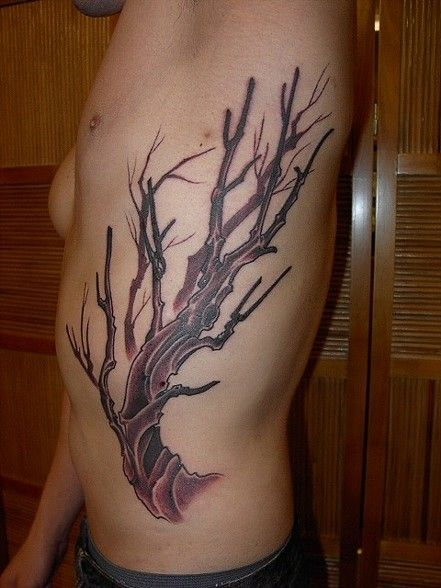 Dead tree tattoo meaning tattoos picture pictures to pin for What does a tree tattoo mean