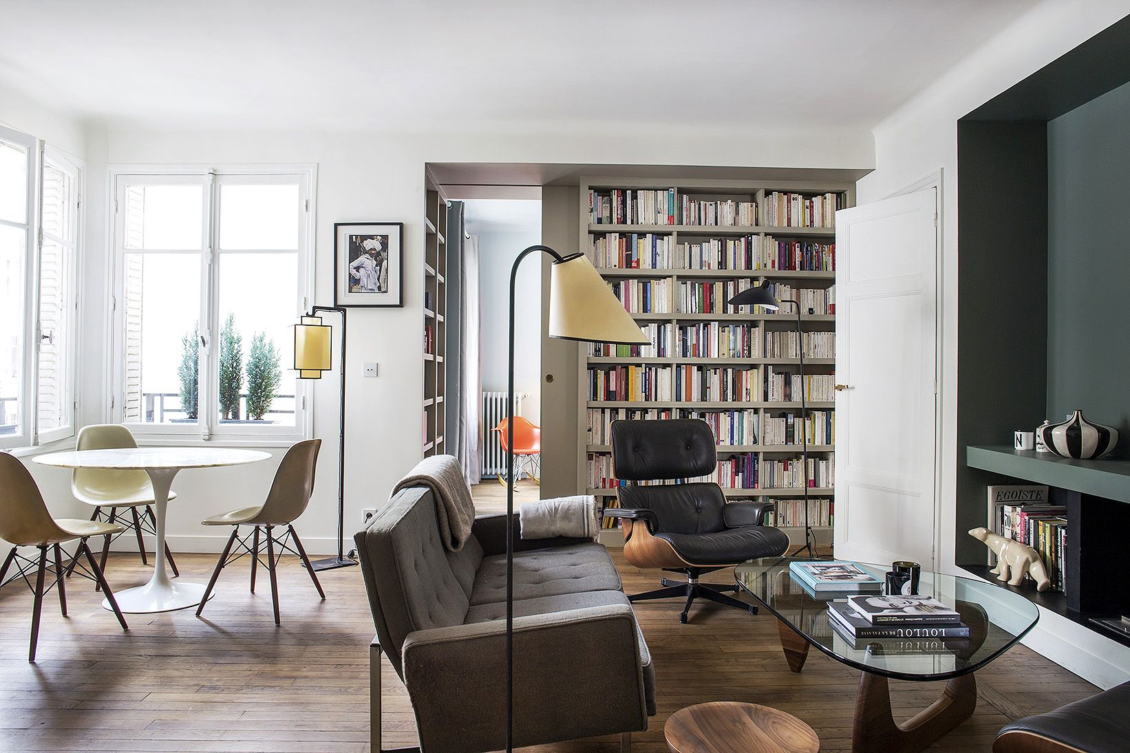 9 Small Space Ideas To Steal From A Tiny Paris Apartment   The Organized  Home