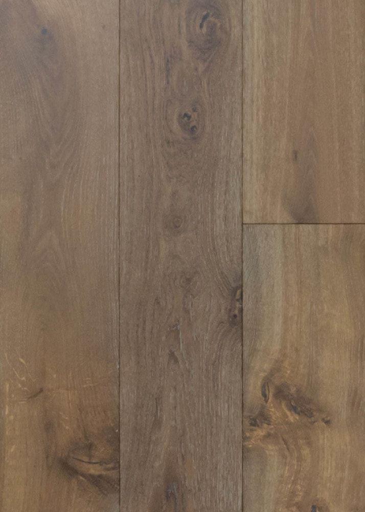 Handwerx Wire Brushed Wide Plank Engineered Hardwood Flooring In