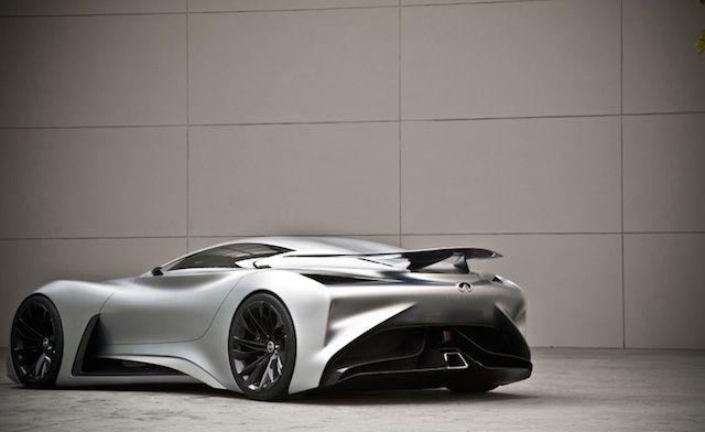 The Infiniti Concept Vision Gran Turismo – Fubiz Media