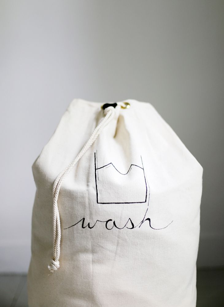 DIY Laundry Bag @themerrythought