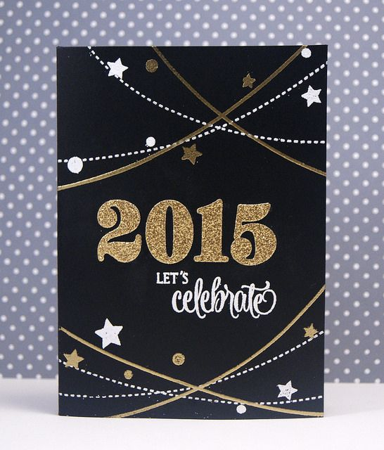 Three Amazing Cards With Images New Year Cards Handmade Happy