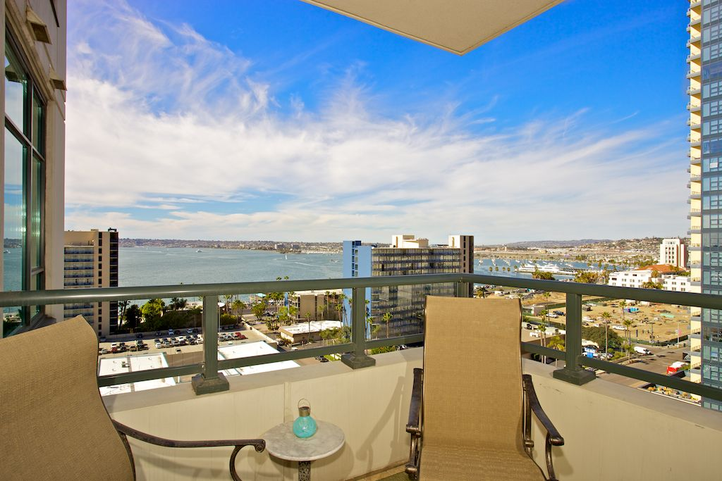 The Grande North Downtown San Diego Condo With Views Of The Bay And City Columbia District San Diego Condos San Diego Real Estate Downtown San Diego