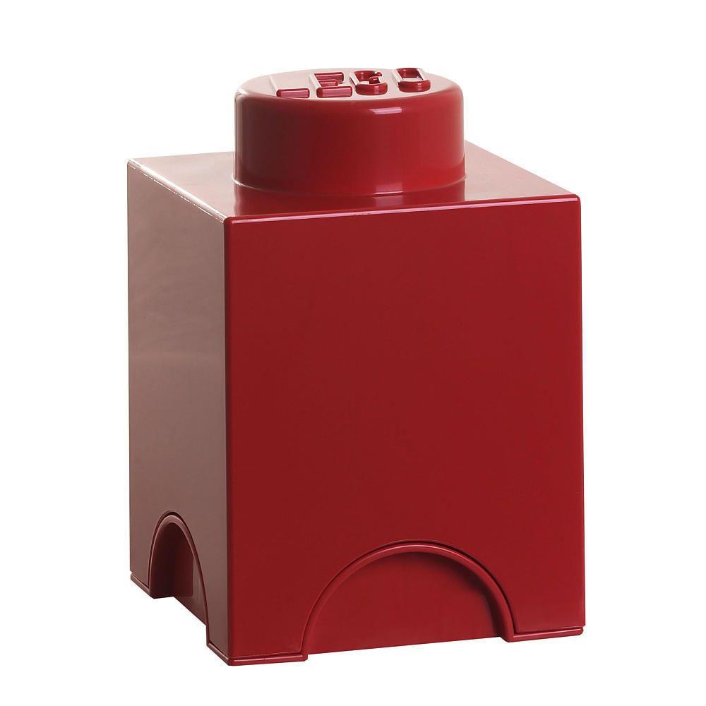 LEGO Stackable Storage Brick 1 - Red #RoomCopenhagen