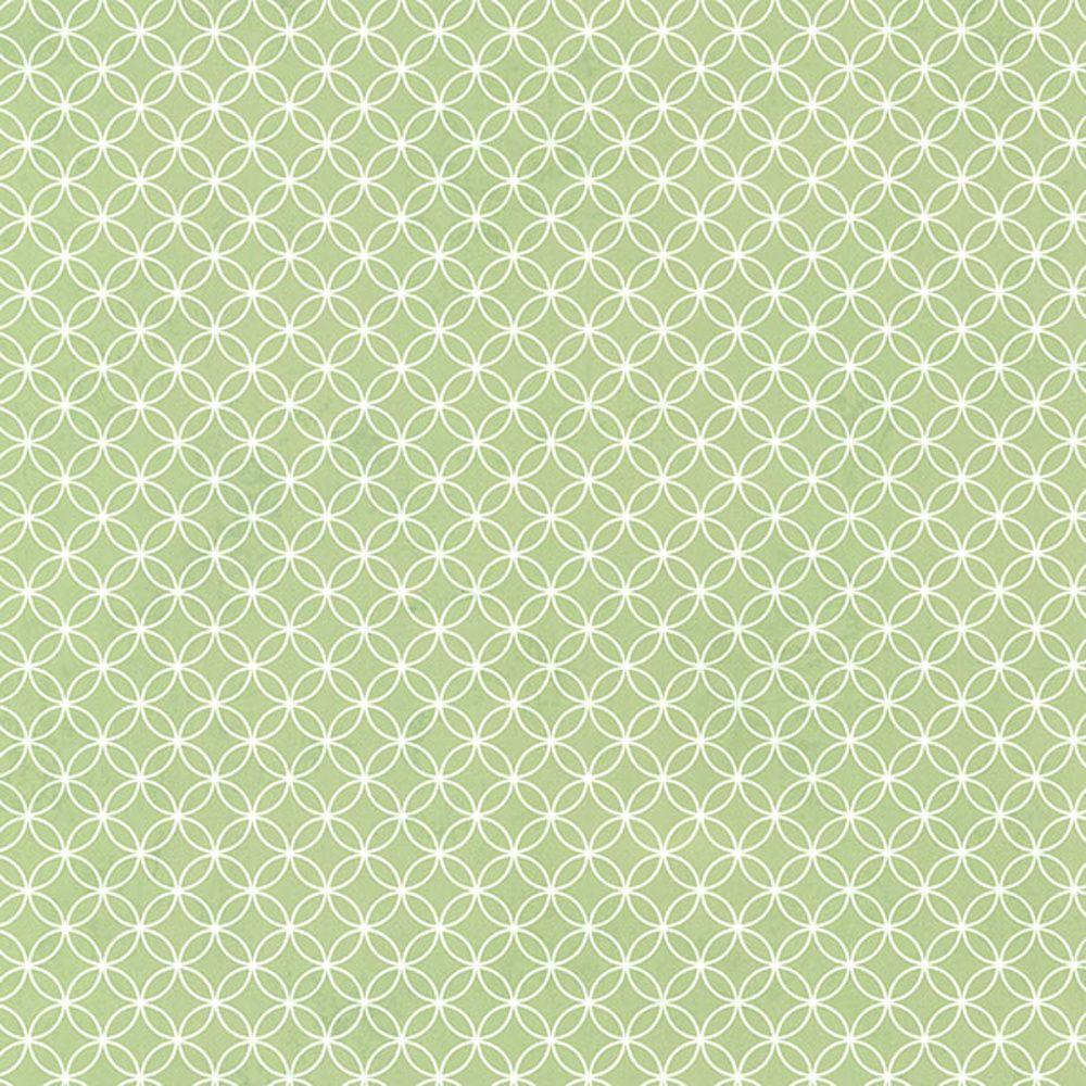 Leena Green Loopy Hoops Wallpaper HAS01304 papermywalls