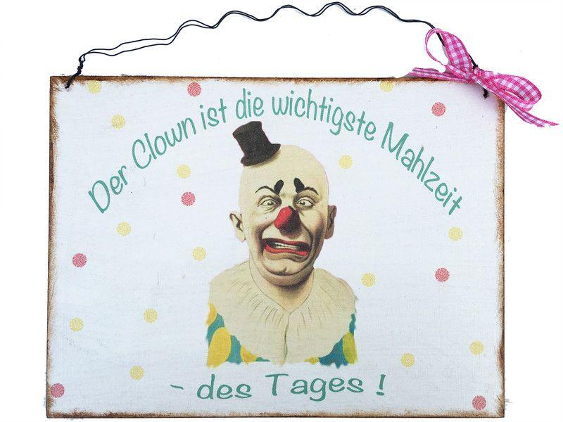 Schild Humor Clown | Tür namensschilder, Namensschilder und Humor