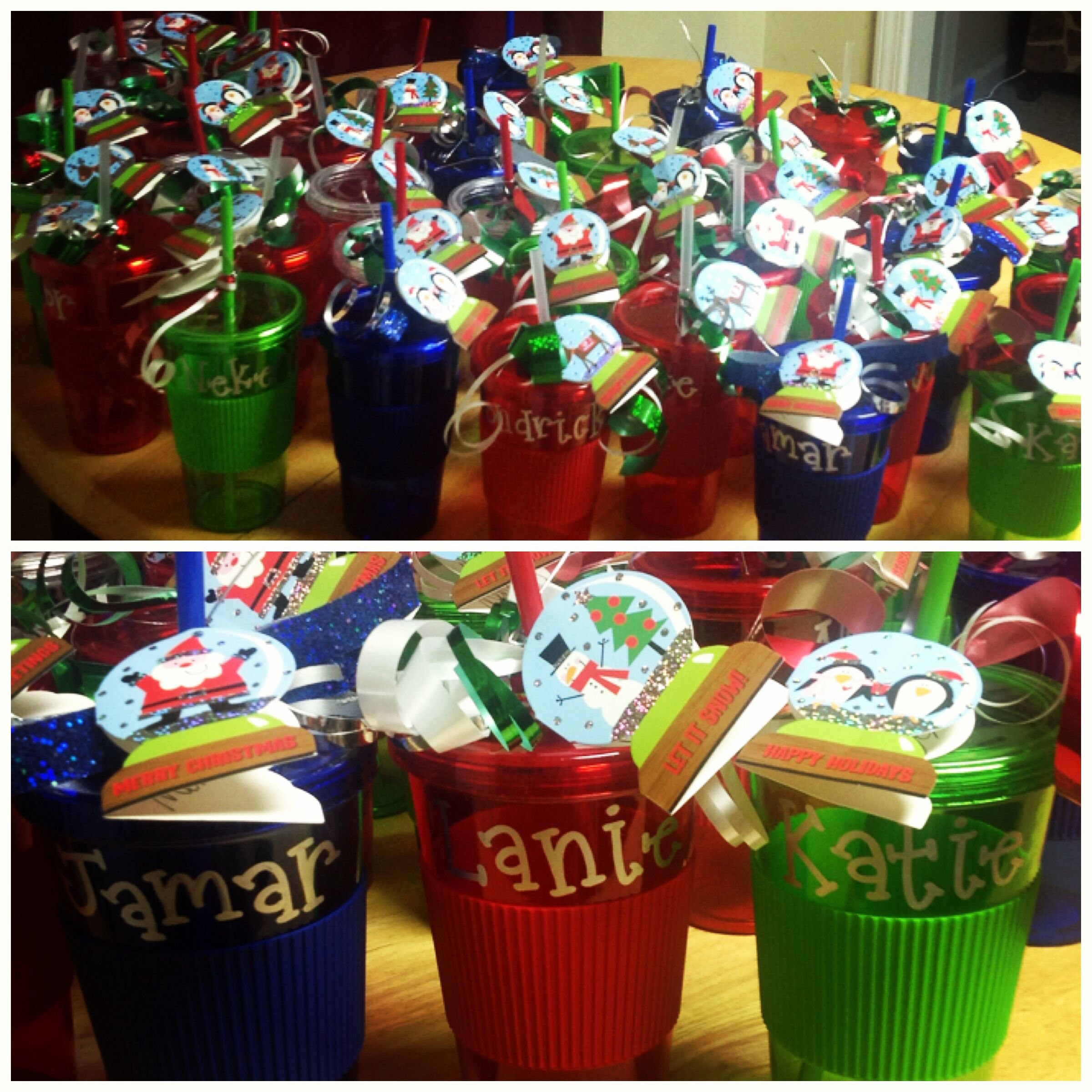 gifts for students from teacher personalized tumblers are cheap and easy to make student christmas