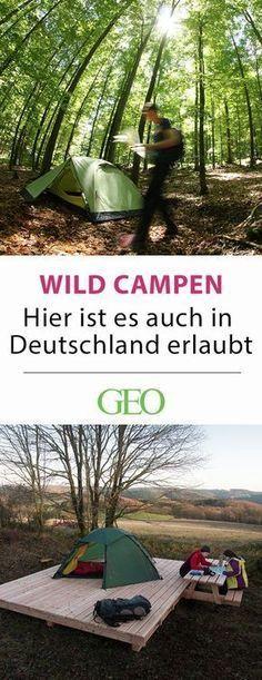 Photo of Camping in Deutschland: Da ist Wildcampen erlaubt