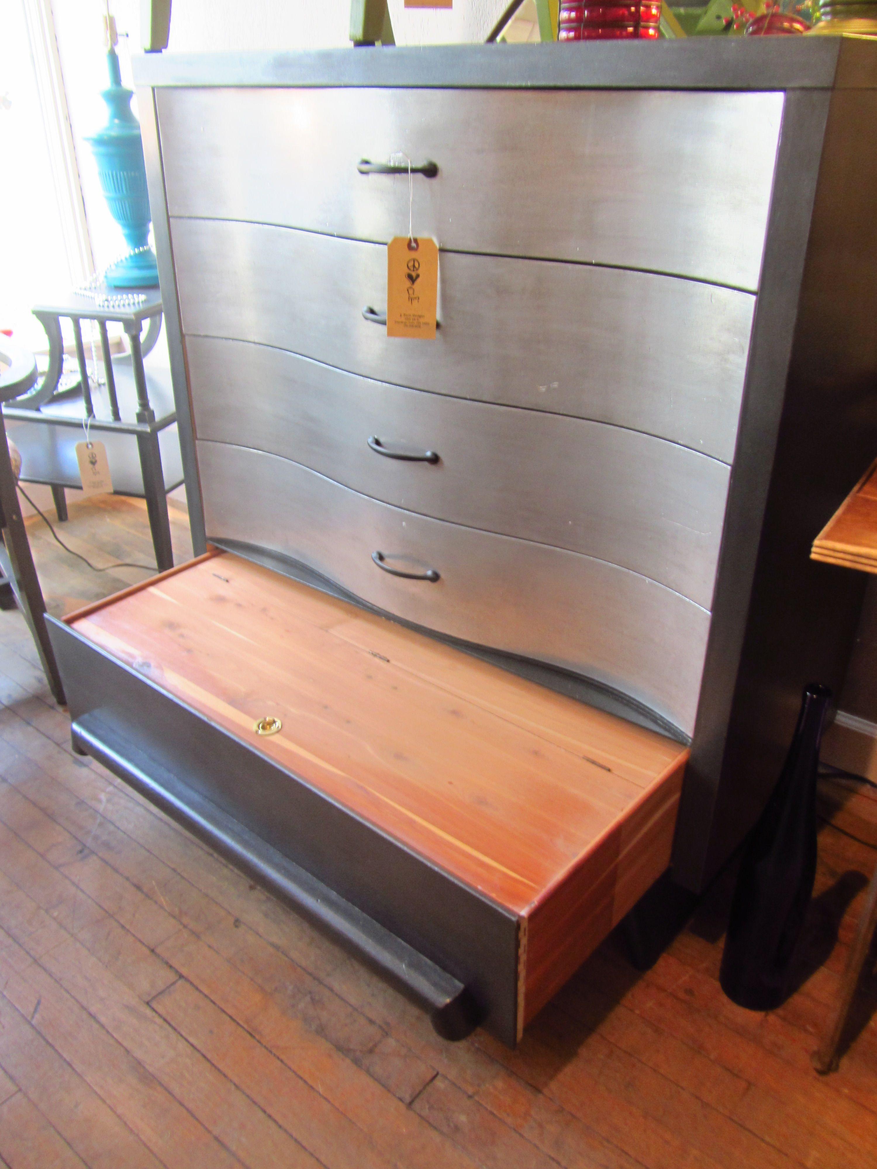 Best Mid Century Modern Dresser W Secret Drawer Painted In 640 x 480