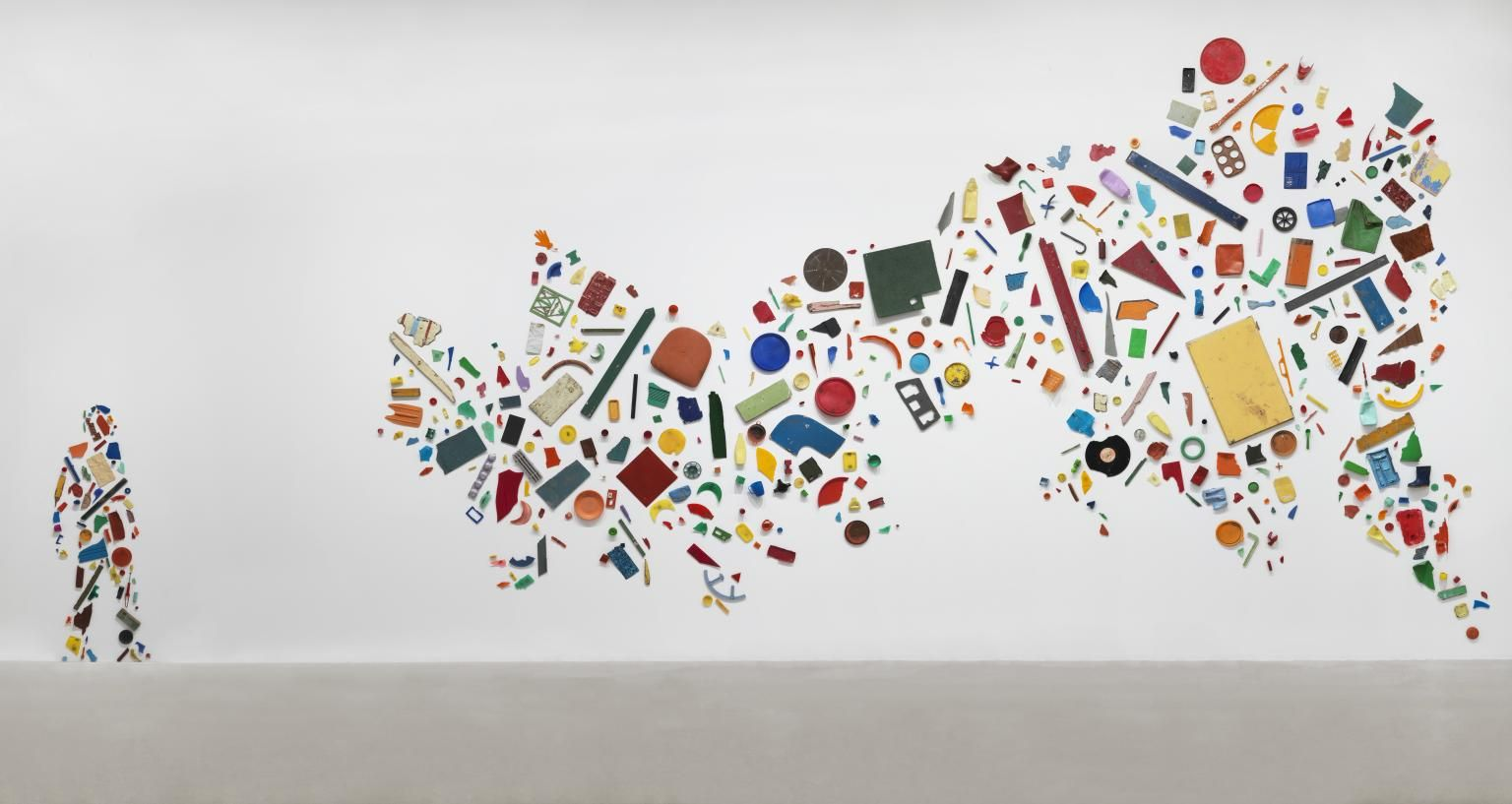 Tony Cragg, 'Britain Seen from the North' 1981 | Artist