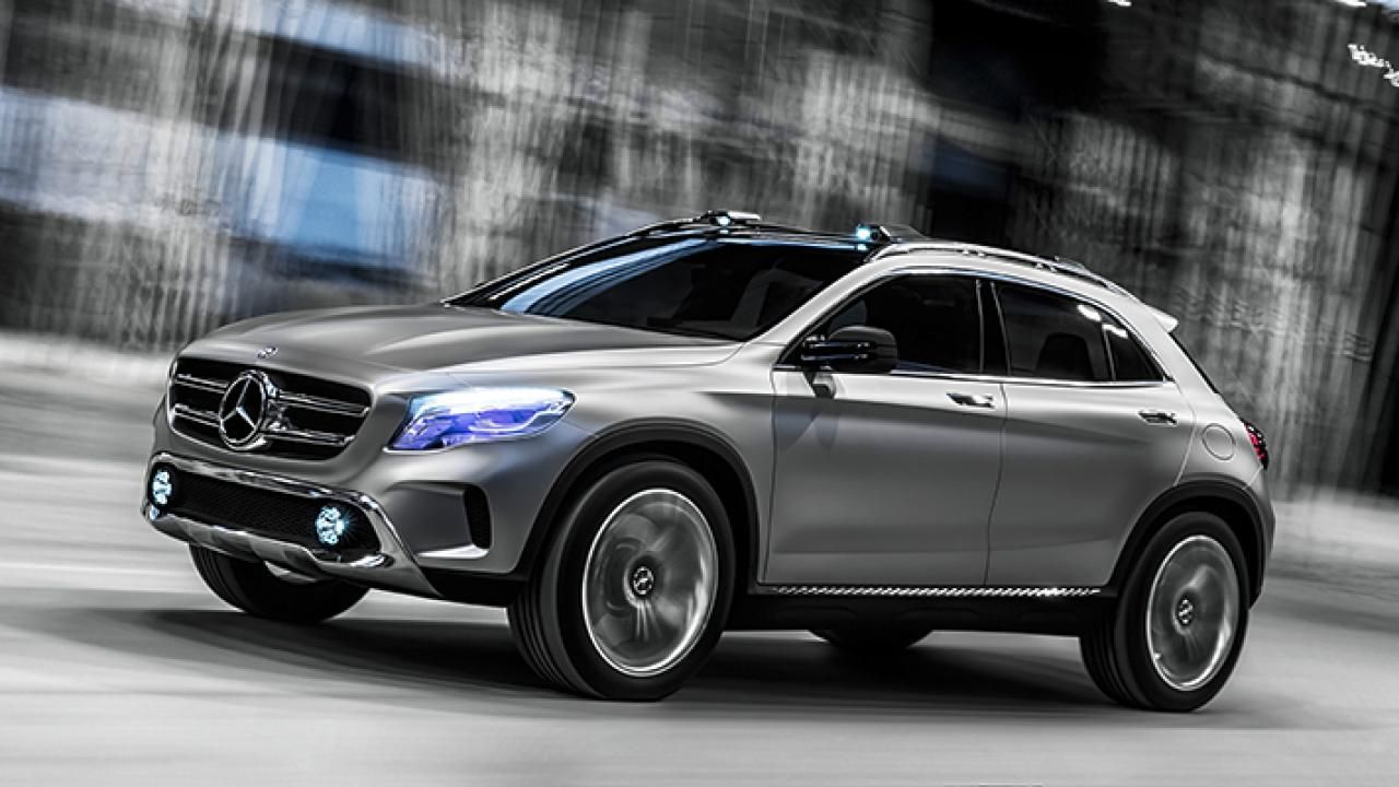 Read the full story on the Mercedes GLA concept at the Shanghai Motor Showhere