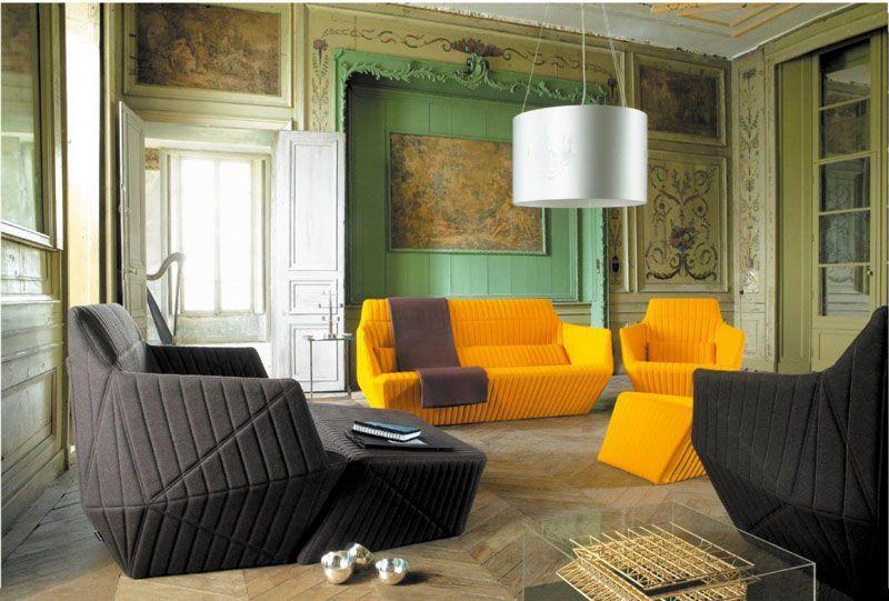 Facett by ligne roset design per il soggiorno vita di for Mobili contemporanei moderni