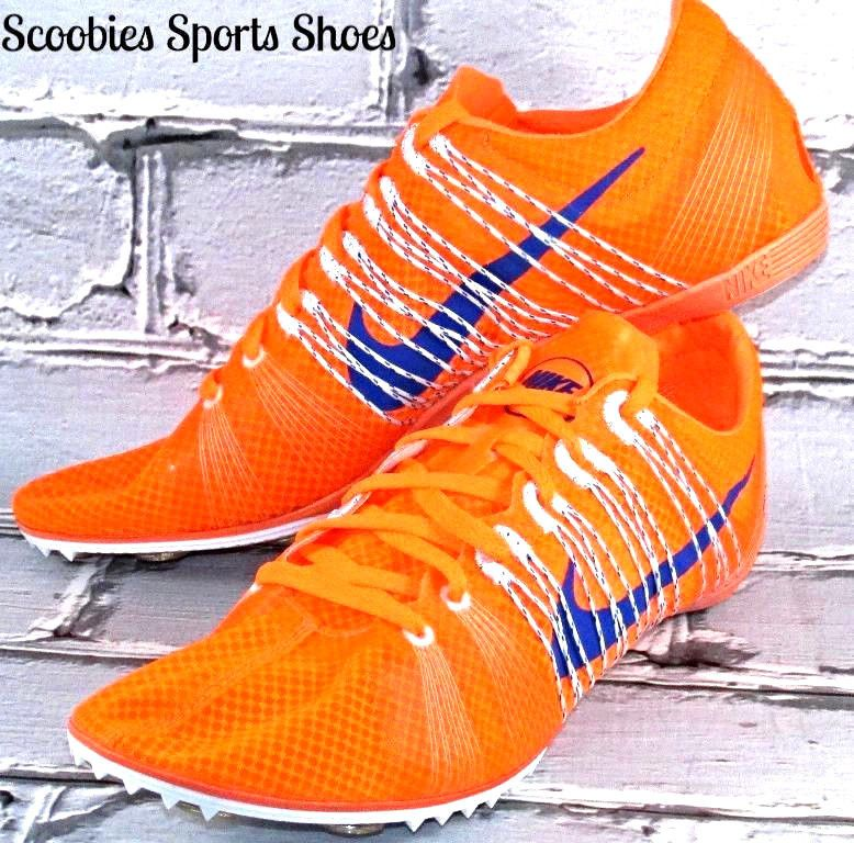 ee1ca2f78f3 NEW Nike Victory 2 Distance Track Spikes Size 10.5 Orange Blue  555365-841    NIKE  TrackRunningSpikes