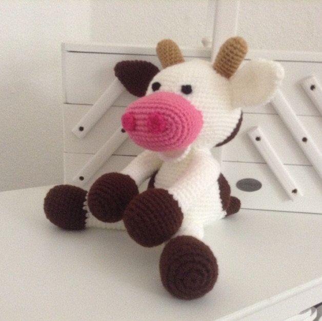 Baby Cow Crochet Pattern By Suwannascraftsroom On Etsy Httpswww
