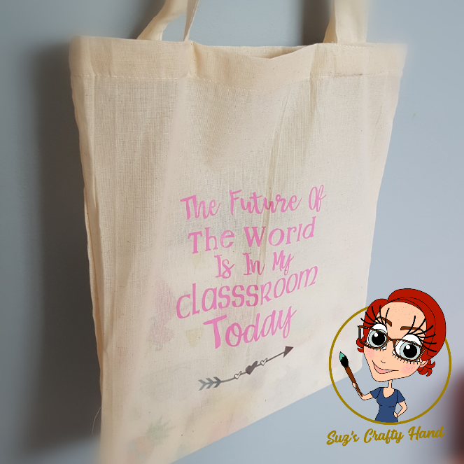 Personalised Canvas Tote Bag Any