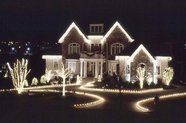 Led Christmas Lights White.Technology 2 Wire 120v Flat Pure White Led Rope Light 2