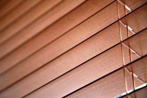 How To Hang Wood Blinds Without Brackets Hunker Wooden Horizontal