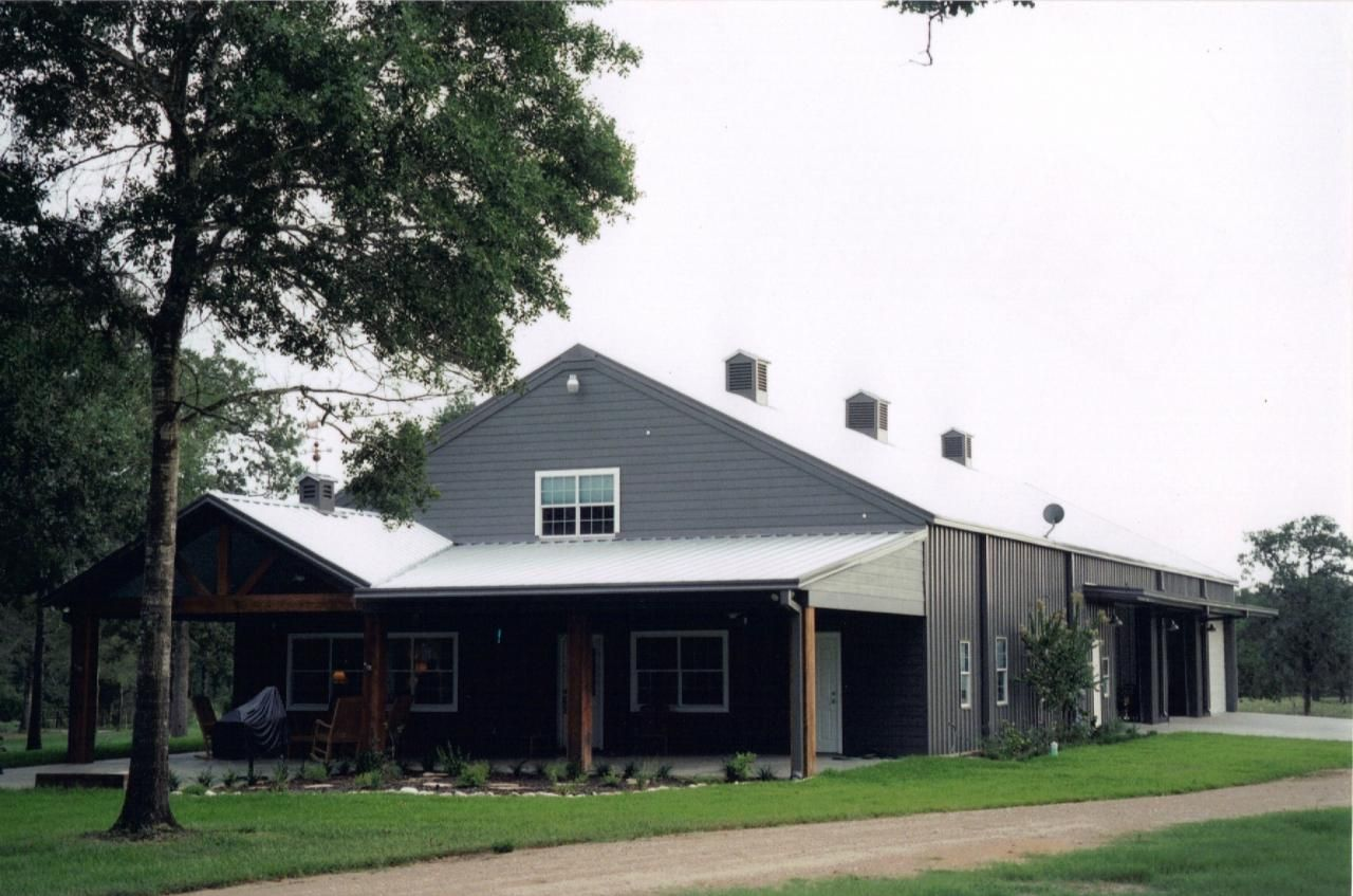 Barndominium on pinterest barndominium metal buildings Custom home plans texas
