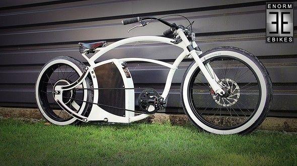 Enorm Ebike V2 White Classic