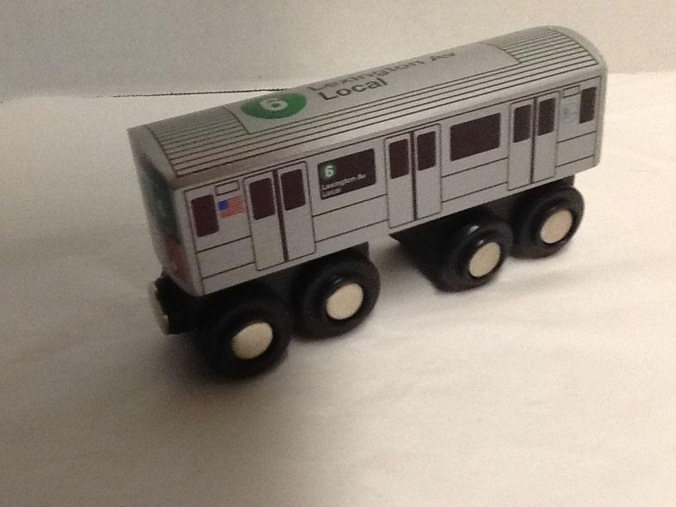 8th Avenue Local Munipals MP01-110C Wooden Subway Train New York City MTA