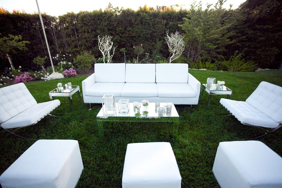 Marvelous White Outdoor Rooms