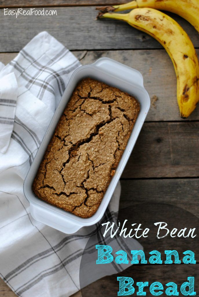 White bean banana bread real food breakfast ideas pinterest real food recipes white bean banana bread forumfinder Image collections